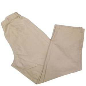 Stretch Riders Vintage 90s High Rise Pants Tan 14P